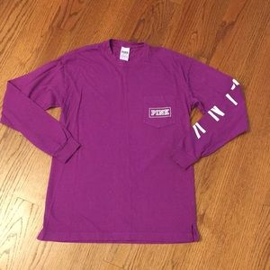 Victoria's Secret pink shirt purple XS